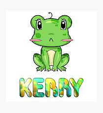 Kerry Frog Photographic Print