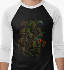 Five Nights at Freddy's 3: It's All in Your Mind Men's Baseball ¾ T-Shirt
