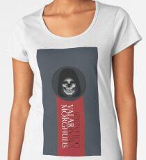 Die and Serve Memento Mori Women's Premium T-Shirt