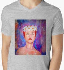 Rock Girl Men's V-Neck T-Shirt