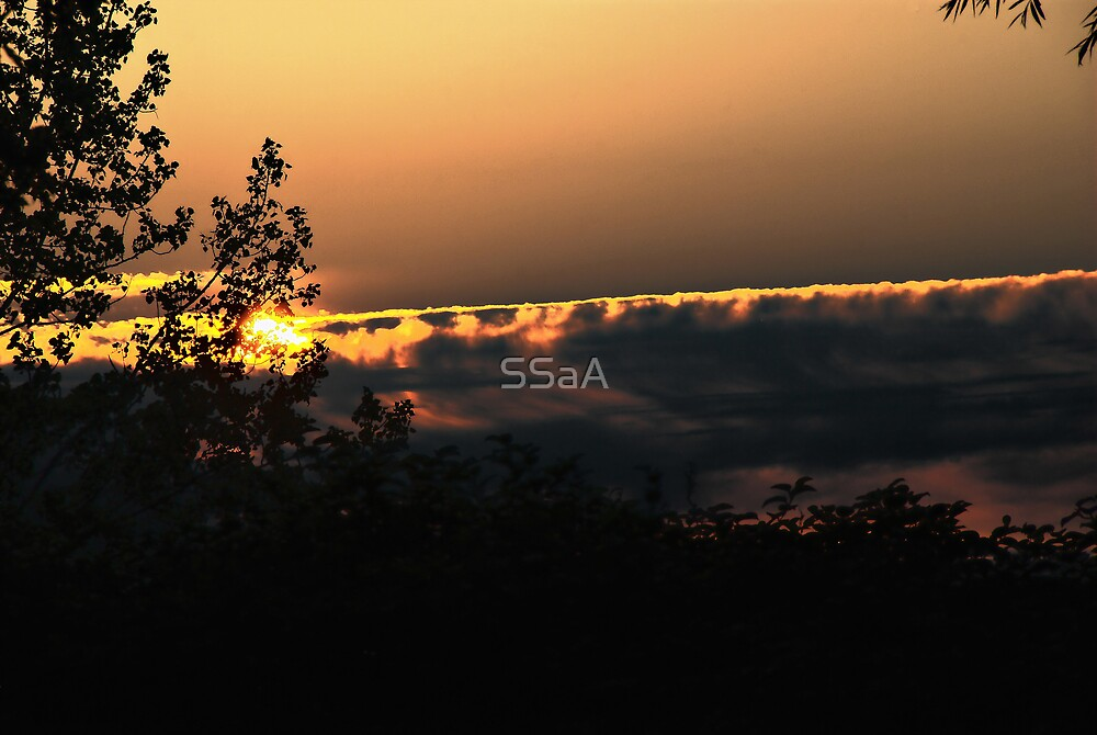 Sunset From The West by SSaA