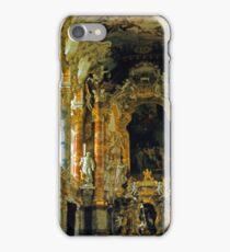 In the Wieskirche, Upper Bavaria, Germany iPhone Case/Skin