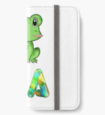 Kia Frog iPhone Wallet/Case/Skin