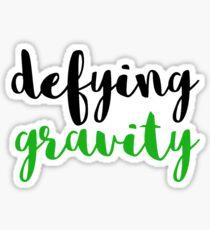 Defying Gravity : Wicked Musical Sticker