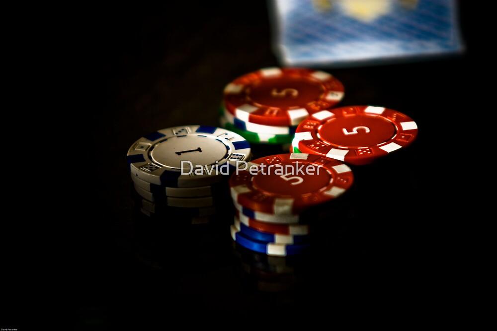 Poker chips by David Petranker