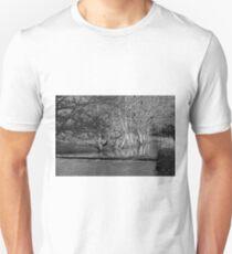 Riverside Trees, Wolfscote Dale Unisex T-Shirt