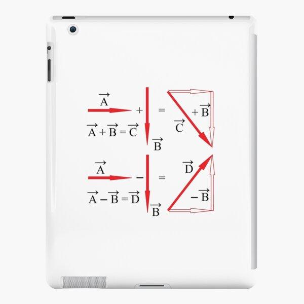 Mathematics, vector algebra, addition of vectors, subtraction of vectors, learning iPad Snap Case