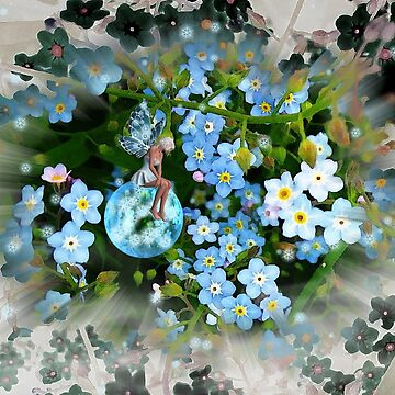 Forget - Me - Not by GretaM