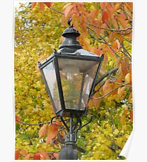 Lamp standard in Richmond Poster