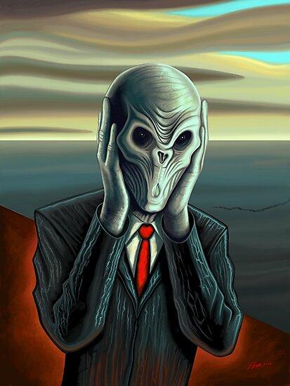 Silent Scream by Remus Brailoiu