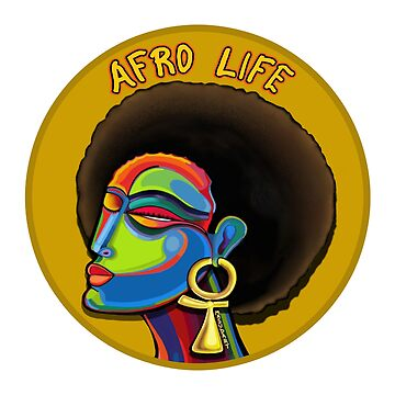 Afro Life #1 by Masudcreations