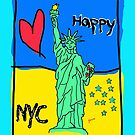 love nyc  by nickbyer