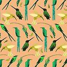 Humming Birds by Rosemary Black