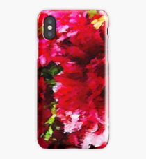 Red Gerbera Daisy Abstract iPhone Case/Skin