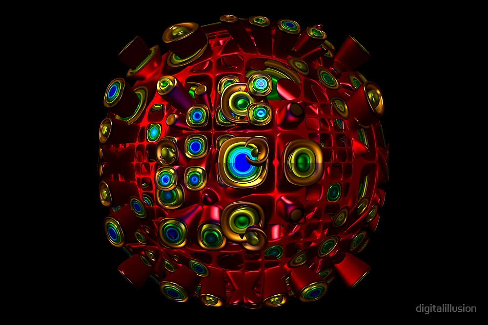 Abnormal sphere by digitalillusion