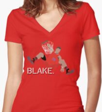 Blake Griffin Women's Fitted V-Neck T-Shirt