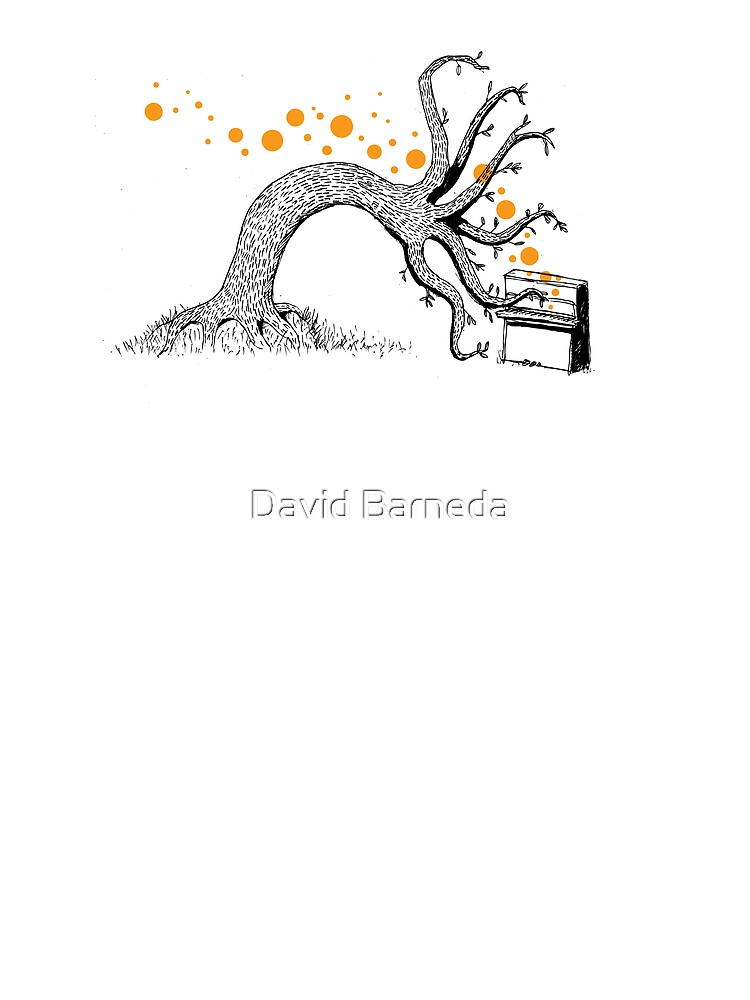 The Silent Tree plays the piano by barneda