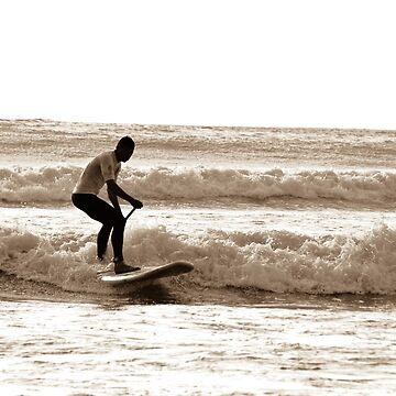 Just Surfing Paddle Board by yurix