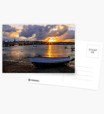 Sunset Over Wexford Town Postcards