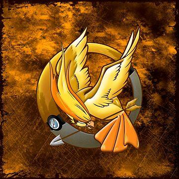 Hunger Phoenix Pokeball by dezigner007