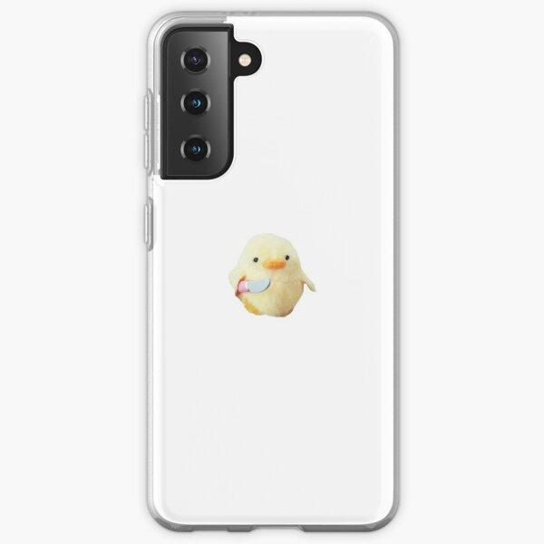 Chicken with a knife meme Samsung Galaxy Soft Case