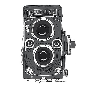 Rolleiflex Camera by sparklehen