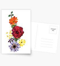 Blumen Postkarten