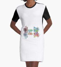 Molecular Structure of Ion Channels, #Molecular, #Structure, #Ion, #Channels, #MolecularStructure, #IonChannels, #IonChannelMolecularStructure, #IonChannel Graphic T-Shirt Dress