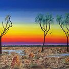 Kakadu Floodplain Sunset by Wendy Sinclair