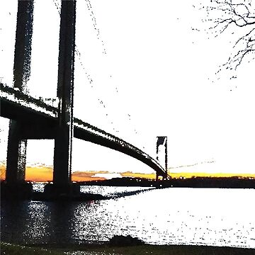 Verrazano Narrows Bridge by znamenski