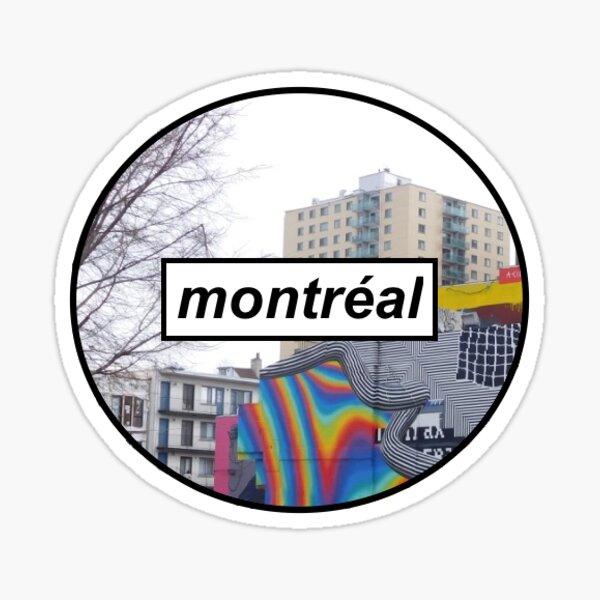 montreal sticker Sticker