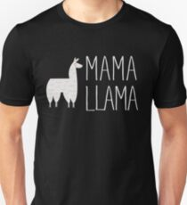 Mama Llama No Problama Funny Llamafest Graphic Tee Shirt Unisex T-Shirt
