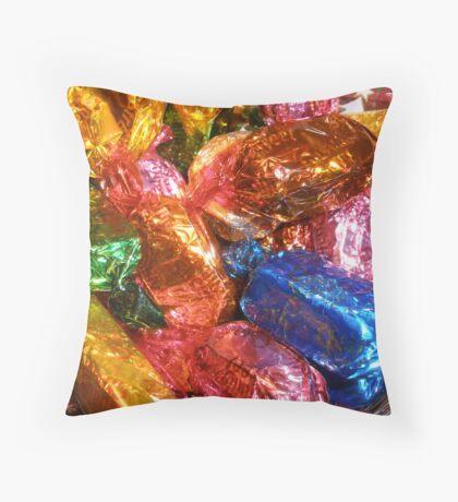 Go on unwrap me! Throw Pillow