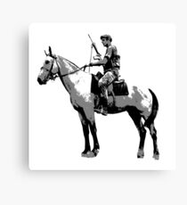 Grey's Scout Trooper Cartoon Canvas Print