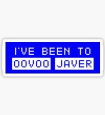 Oovoo Javer Sticker