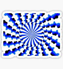 Illusion Pattern Sticker