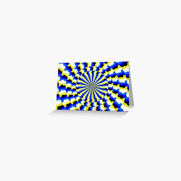 Illusion Pattern Greeting Card