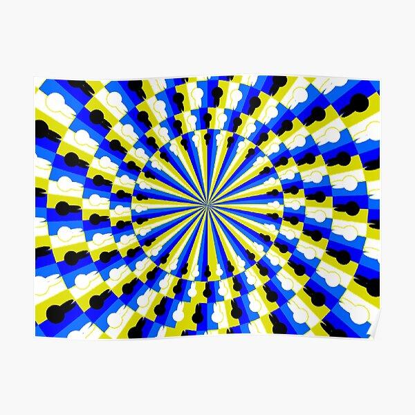 Illusion Pattern Poster
