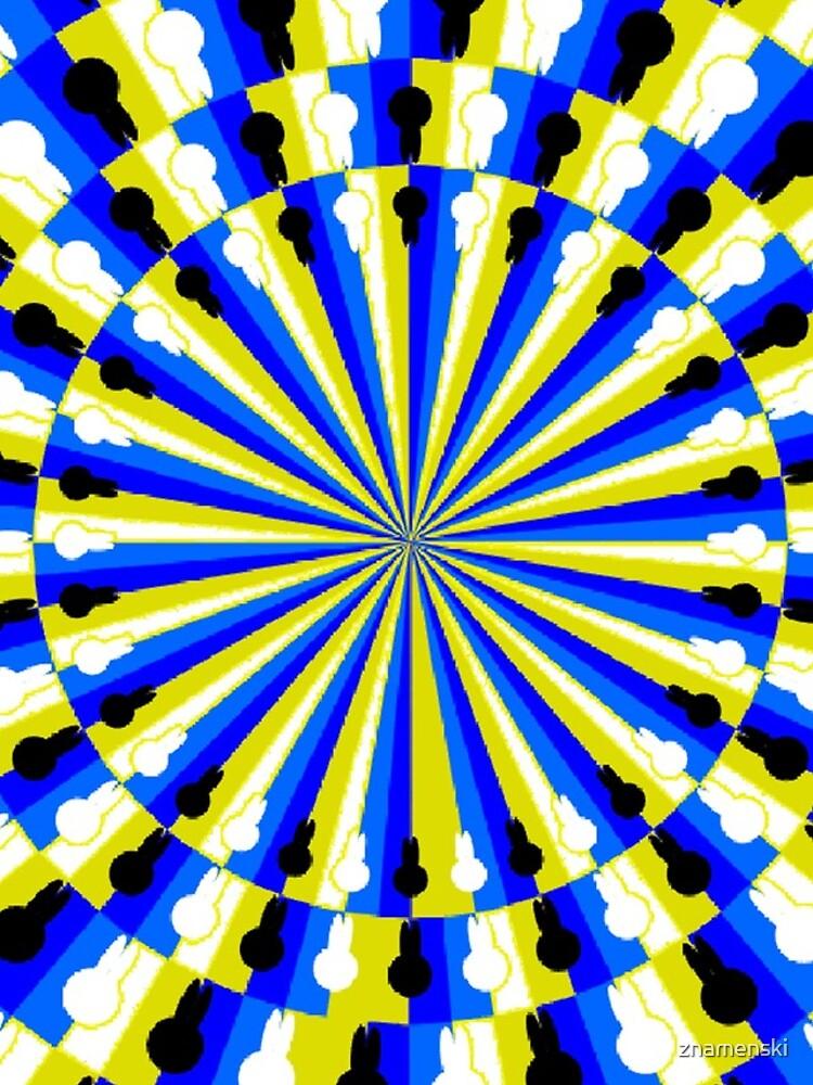 Illusion Pattern - Optical Illusion Spinner by znamenski