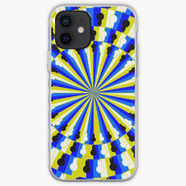Illusion Pattern iPhone Soft Case