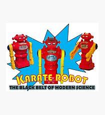 KARATE ROBOT Photographic Print