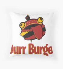 Fortnite Durr Burger Throw Pillow