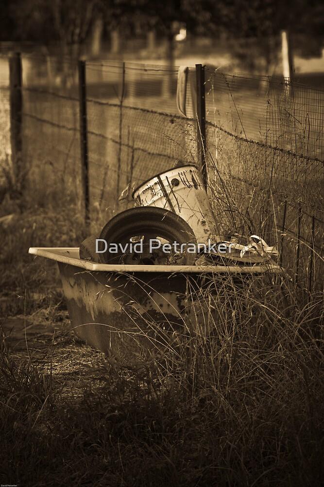 Old bath tub by David Petranker
