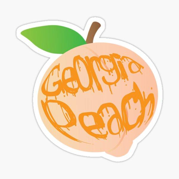 Georgia Peach  Sticker