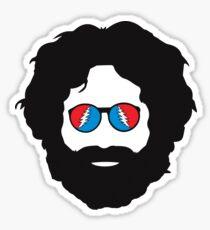 Grateful Dead - Jerry Garcia Sticker