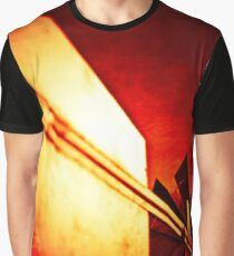 Garden Windmill Vane and Tail Flame Graphic T-Shirt