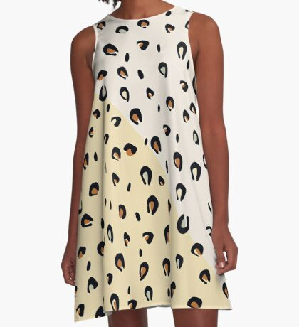AFE Animal Print A-Line Dress