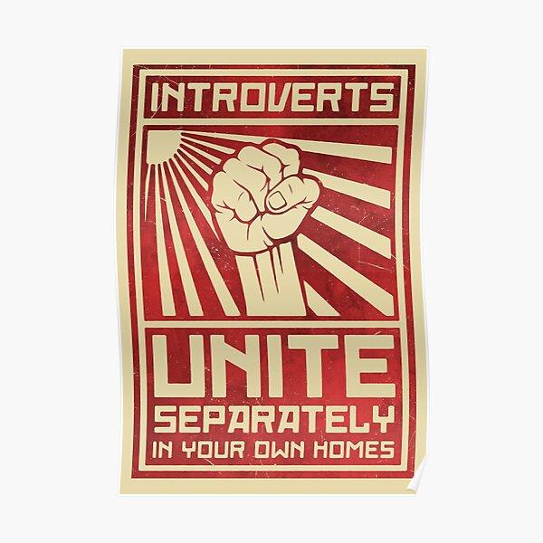 Los introvertidos se unen Póster