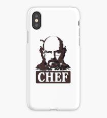 CHEF WHITE iPhone Case/Skin