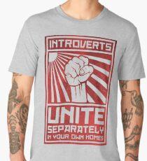 Introverts Unite  Men's Premium T-Shirt